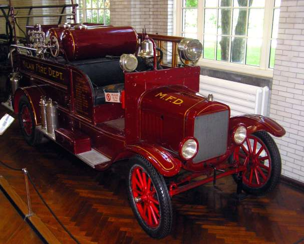 Milan's 1926 Ford Model T Fire Truck